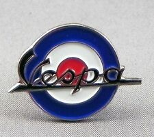 VESPA - LAPEL PIN BADGE - SCOOTER SCOOTERIST MOD ROUNDEL SKINHEADS BIKE (105)