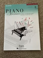 Level 3A Lesson Book 2nd Edition Faber Piano Adventures Book New 000420180