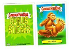 """2015 Garbage Pail Kids Series 1 """"BIG BEN"""" B6a Bonus Sticker Card"""
