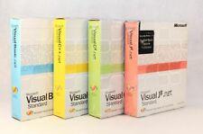 Full Package (4x BOX) of Microsoft Visual Studio .net IDEs
