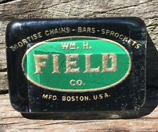 Antique Early 1900's William H. Field Company Boston Ma Advertising Paperweight