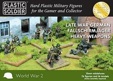 The Plastic Soldier Company 15mm German Falschirmjaeger Heavy Weapons WW2015014