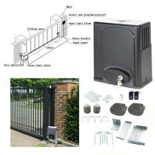 Sliding Gate.Opener Electric Operator w Remote Control Automatic Roller 1400lbs