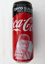 GENUINE STAR WARS FINN COCA-COLA COKE ZERO 330ML COLLECTOR'S CAN GERMANY