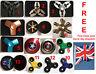 Fidget Finger Spinner Hand Focus Spin Aluminum EDC Bearing ADHD Stress Toys UK