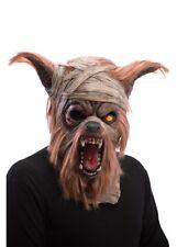 Deluxe momifiés Loup-Garou Masque Halloween Déguisements momie zombie Chien Tête Complète