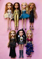 Bratz Doll Bundle Lot of 7 Dolls Magic Hair Genie Rare