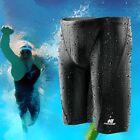 Fina Approved Men Sharkskin Racing Training Swimming Trunk Jammer Swimwear Trunk