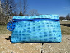 NEW - Lancome make up bag - great for travel - blue