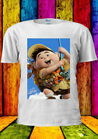 Up Disney Pixar Animation Fat Kid Fly T-shirt Vest Tank Top Men Women Unisex 417