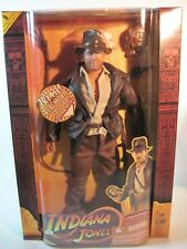12''TALKING INDIANA JONES WITH GOLDEN IDOL ACTION FIGURE   2008 HASBRO