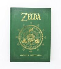 THE LEGEND OF ZELDA: Hyrule Historia by Eiji Aonuma Hardcover Book Nintendo HTF