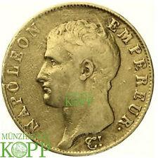 AA1232) FRANKREICH 40 Francs 1806 U - Napoleon I. 1805-1814- Gold