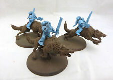Warhammer 40K  Space Marines Wolf Thunder Cavalry wolves army lot