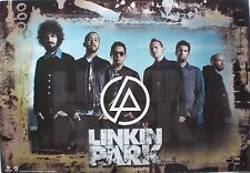 "Linkin Park ""Minutes To Midnight"" Rare Promo Poster From Malaysia - Alt Metal"