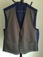 Cotton Blend Long Big & Tall Waistcoats for Men