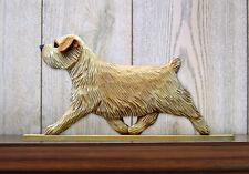 Norfolk Terrier Sign Plaque Wall Decor Wheaten