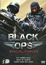 BLACK OPS SPECIAL FORCES OPERATIONS TAKING DOWN BIN LADEN & MORE - 3 DVD BOX SET