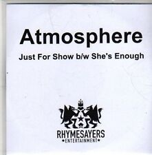 (CC43) Atmosphere, Just For Show - DJ CD