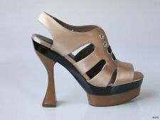 new hot $815 MARNI sculpted heel platforms heels shoes 39 9