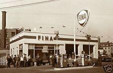 1 VINTAGE 5x7 FINA DEALER GAS STATION SERVICE  1960's COCA-COLA BUICK AUTOMOBILE