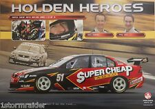V8 Supercar Greg Murphy Paul Weel Poster Excellent Cond Never Hung & Stored Flat