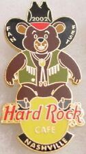 "Hard Rock Cafe NASHVILLE 2002 FAN FEST ""Annie"" Bear PIN #1 - HRC Catalog #11848"