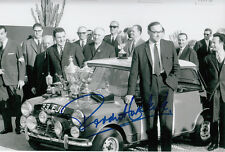 Paddy Hopkirk Hand Signed Mini Cooper Photo 12x8 11.