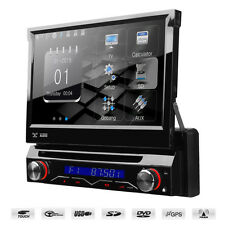 "7"" Motorised Flip Out HD Screen Car DVD Player With GPS Bluetooth USB SD & Radio"