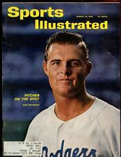 Aug 20 1962 Sports Illustrated Magazine With Don Drysdale Cover EXMT