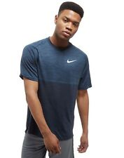 Nike Dry Medalist Short Sleeve T-Shirt Colour BLUE SIZE L RRP £60