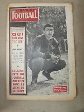 FRANCE FOOTBALL N°672 DU 27/01/1959- QUI ETES VOUS O.G.C. NICE?