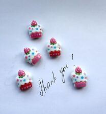 Cupcakes Nevera Memo, Decoración fuertes imanes. conjunto de Idea Regalo poco 5.A. buen Precio