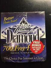 Collector's CD AOL America Online 700 Hours Free Sealed Diamond 5.0
