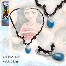 US SELLER! Moana Princess Vaiana Necklace Principessa Cosplay Prop Pendant Gift