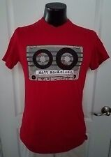 Matt MacKelcan Live 2010 Casette Tour T Shirt Red Medium Headlights Not Stars