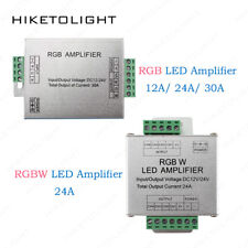RGB 12A/24A/30A RGBW Amplifier Repeater for 2835 5050 LED Strip Light DC12-24V