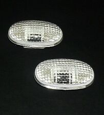 CHEVROLET Aveo Spark DAEWOO Kalos Matiz Tacuma - WING INDICATORS CLEAR PAIR SET