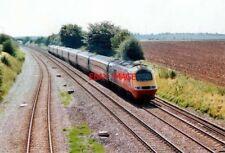 PHOTO  2002 ELFORD STAFFORDSHIRE RAILWAY LINES A VIRGIN HST HEADING NORTH TO DER