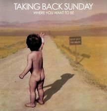 Taking Back Sunday - Where You Want to Be [New Vinyl]