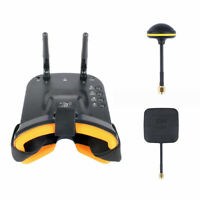 JMT Mini FPV Goggles With Mushroom Antenna Panel Antenna
