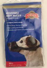 Great Choice Adjustable Mesh Muzzle Temporary Muzzle Restraint Size 5