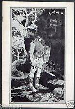 Vintage October 1967 Issue of AMRA a vintage Sword and Sorcery Fanzine , Fantasy