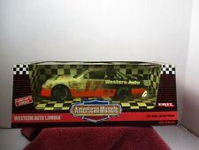 1/18 SCALE ERTL AMERICAN MUSCLE NASCAR DARRYLL WALTRIP #17 WESTERN AUTO LUMINA