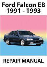 FORD FALCON EB Series REPAIR MANUAL: 1991-1993