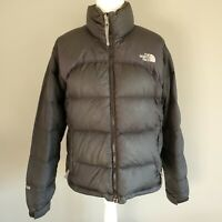 Vintage The North Face Nuptse Jacket Black 700 Goose Down Puffer Womens Small