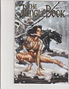 Jungle Book Holiday Special 2016 Cover E Diamond Foil Exclusive LE500 NM Otero