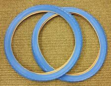 Bicycle Tires Balloon 26 X 2.125 Fit Schwinn Other Blue