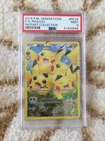Pokemon PSA 9 Pikachu Generations RC29/RC32