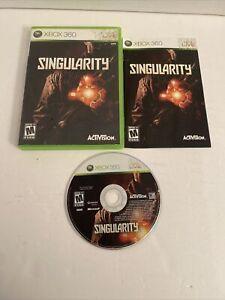 Singularity (Microsoft Xbox 360, 2010) Complete w Manual CIB